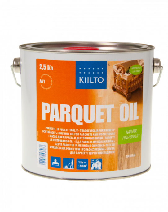 Kiilto Parquet Oil Масло для паркета и дерева